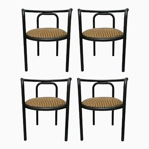 Vintage Solus Locus Dining Chairs by Gae Aulenti for Poltronova, Set of 4