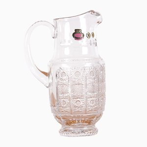 Vintage Bohemia Crystal Pitcher
