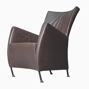 Leather Windy Easy Chair by Gijs Papavoine for Montis, 1990s