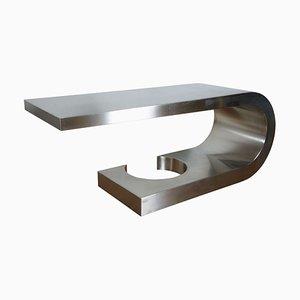 Diapason Schreibtisch aus Stahl von Marzio Cecchi, 1960er