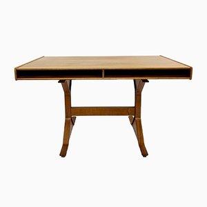 Schreibtisch aus Palisander von Gianfranco Frattini für Bernini