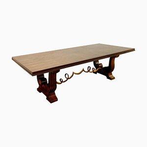 Tisch aus Makassar-Ebenholz, 1940er