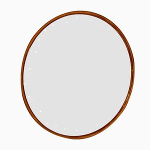 Round Vintage Illuminated Mirror