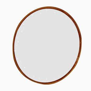 Runder beleuchteter Vintage Spiegel