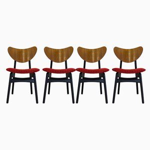 Mid-Century Dining Table & 4 Dining Chairs Set from G-Plan