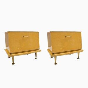 Tables de Chevet Mid-Century, 1950s, Set de 2