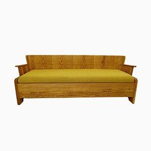 Sofa mit Gestell aus Kiefernholz von Göran Malmvall, 1950er