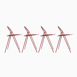 Vintage Folding Chairs from Cidue, Set of 4