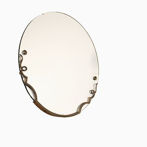 Round French Mirror, 1940s