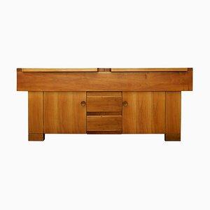 Walnut Sideboard by Giovanni Michelucci for Poltronova