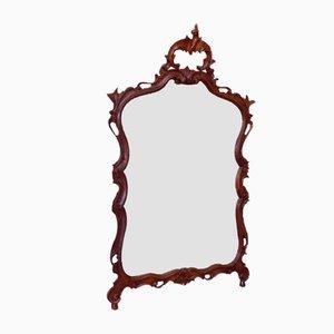 Spiegel mit Rahmen aus geschnitztem Holz, 1960er