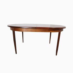 Mesa de comedor extensible vintage de Ib Kofod-Larsen para G-Plan, años 60