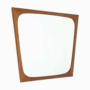 Dänischer Spiegel mit Rahmen aus Teak von Aarhus, 1960er