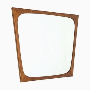 Danish Teak Mirror from Aarhus, 1960s