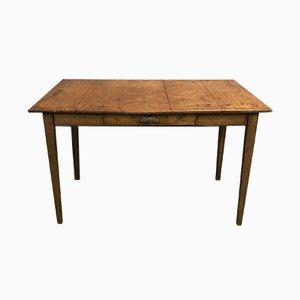 Antiker Schreibtisch aus Eiche & Tannenholz