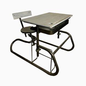 Vintage American School Desk