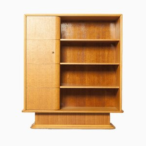 Art Deco Bookcase from Salet's Machinale Meubelfabriek