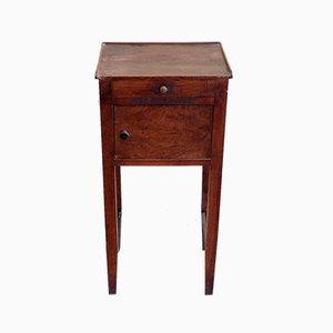 Table de Chevet Antique en Noyer