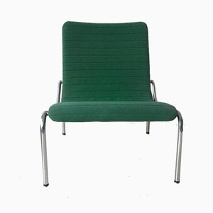 Green Tubular Model 703 Lounge Chair by Kho Liang Ie for Stabin Holland, 1968