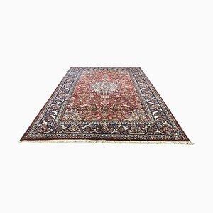 Großer handgefertigter Vintage Teppich