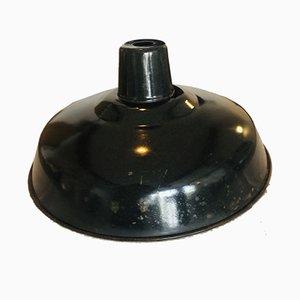 Vintage Enameled Pendant Lamp from Mazda