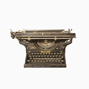 Máquina de escribir de Underwood, años 20