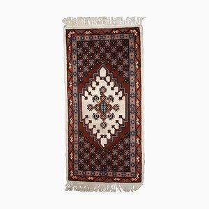 Alfombra bereber marroquí vintage, años 70