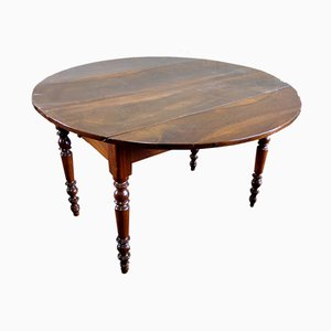 Antique Extendable Walnut Dining Table