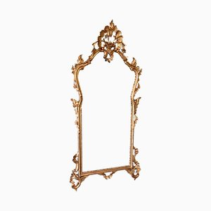 Carved Wood Mirror, 1950s