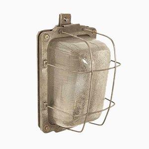 Lámpara de pared industrial, años 60
