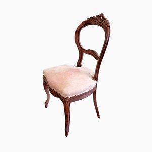 Antike italienische Esszimmerstühle, 6er Set