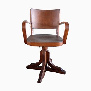 Sedia da scrivania girevole, anni '50