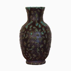 Vaso grande in ceramica di Hubert Guy di Accolay, anni '60