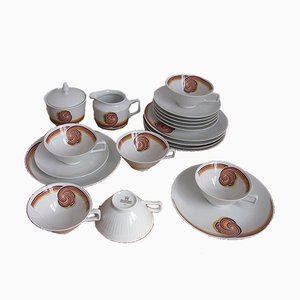 Coffee Service from Bareuther Waldsassen Bavaria, 1970s