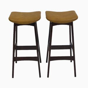 High Stools by Erik Buch for Dyrlund, 1960s, Set of 2