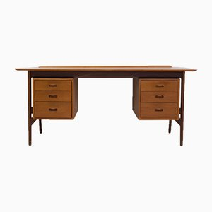 Teak Writing Desk by Arne Vodder, 1960s