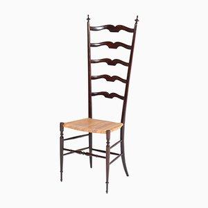 Mid-Century Italian Chiavari Hall Chair, 1950s