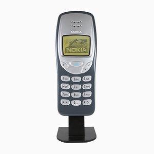 Objeto publicitario de teléfono móvil Nokia 3210 grande, años 90
