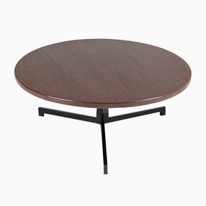 Mid-Century Dutch Wenge Coffee Table by Martin Visser for 'T Spectrum