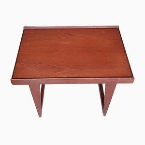 Tavolino in teak di Peter Løvig Nielsen, Danimarca, anni '60