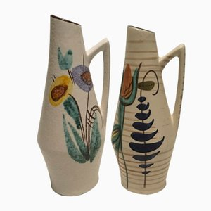 Vases from Scheurich, 1950s, Set of 2