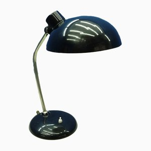 Lampada da tavolo Bauhaus in metallo di HELO, Germania, anni '40