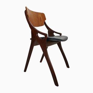 Dänische Modell 71 Esszimmerstühle von Arne Hovmand Olsen für Mogens Kold, 1960er, 4er Set