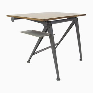 Vintage Reply Drafting Table Desk by Wim Rietveld & Friso Kramer for Ahrend De Cirkel, 1950s