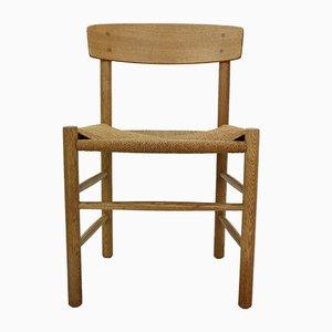 Vintage Danish Oak J39 Chair by Borge Mogensen