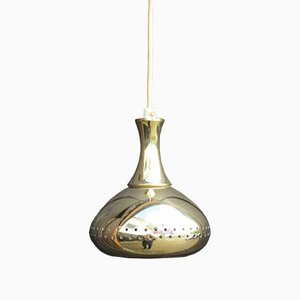 Vintage Deckenlampe aus Messing von Hans-Agne Jakobsson, 1960er