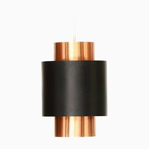 Lámpara colgante Tunika danesa de Jo Hammerborg para Fog & Mørup, años 60