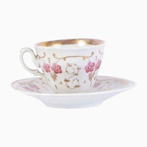 Antike Teetasse von Carlsbad