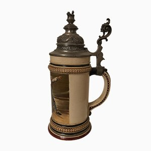 Antique German Beer Stein, 1880s
