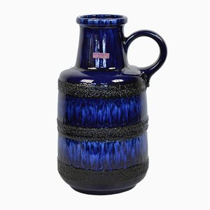 Vaso in ceramica di Scheurich, Germania Ovest, anni '60